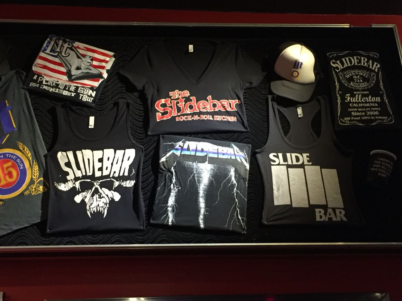 T-shirts available at The Slidebar in Fullerton!   Punk