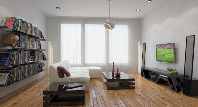Rendering An Interior Scene V Ray 2 0 For Rhino Help Chaos