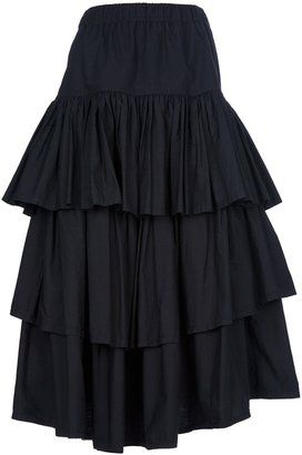 e9cb9b9128 ShopStyle: Jean Paul Gaultier Vintage Layer ruffle skirt | GYPSY ...