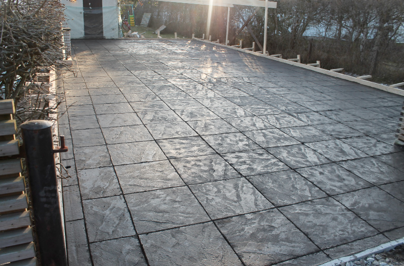 mönstrad betong skåne