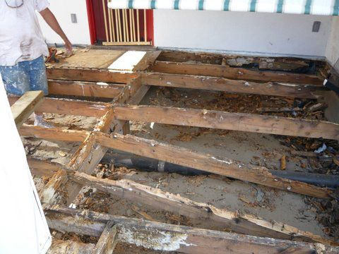 Replacing Rotten Floor Joists Google Search