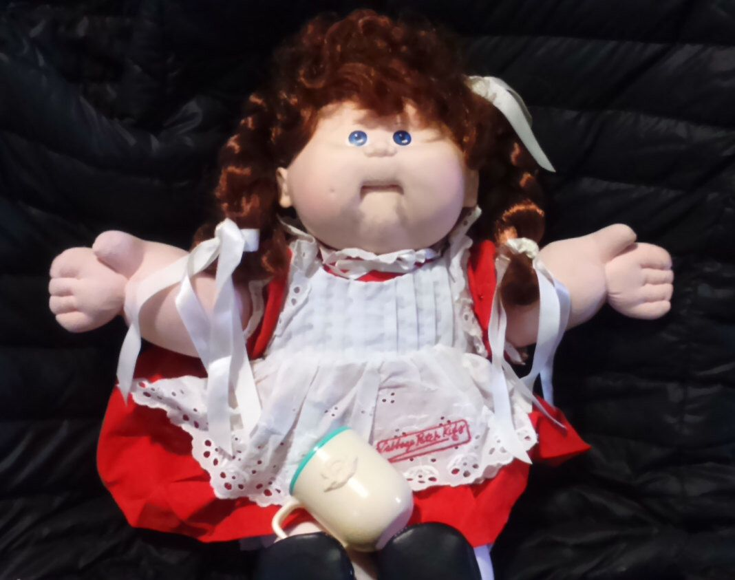 Vintage 1987 Coleco Interactive Talking Cabbage Patch Doll And Etsy Cabbage Patch Kids Cabbage Patch Dolls Cabbage Patch