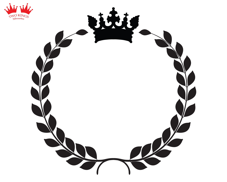 Laurel wreath symbol, Svg file for cricut, Instant