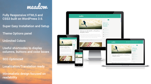 Meadow - Tema Wordpress para Blogs con Estilo | Wordpress