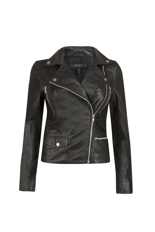 Black Havelock Biker Jacket Muubaa Ss16 Https Www Muubaa Com Jackets C1 Havelock Black Leather Biker Jack Black Leather Biker Jacket Jackets Leather Design