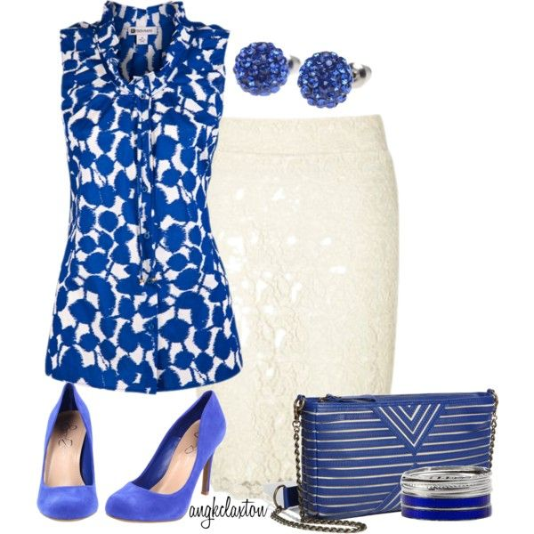 """""""Work Blues"""" by angkclaxton on Polyvore"""