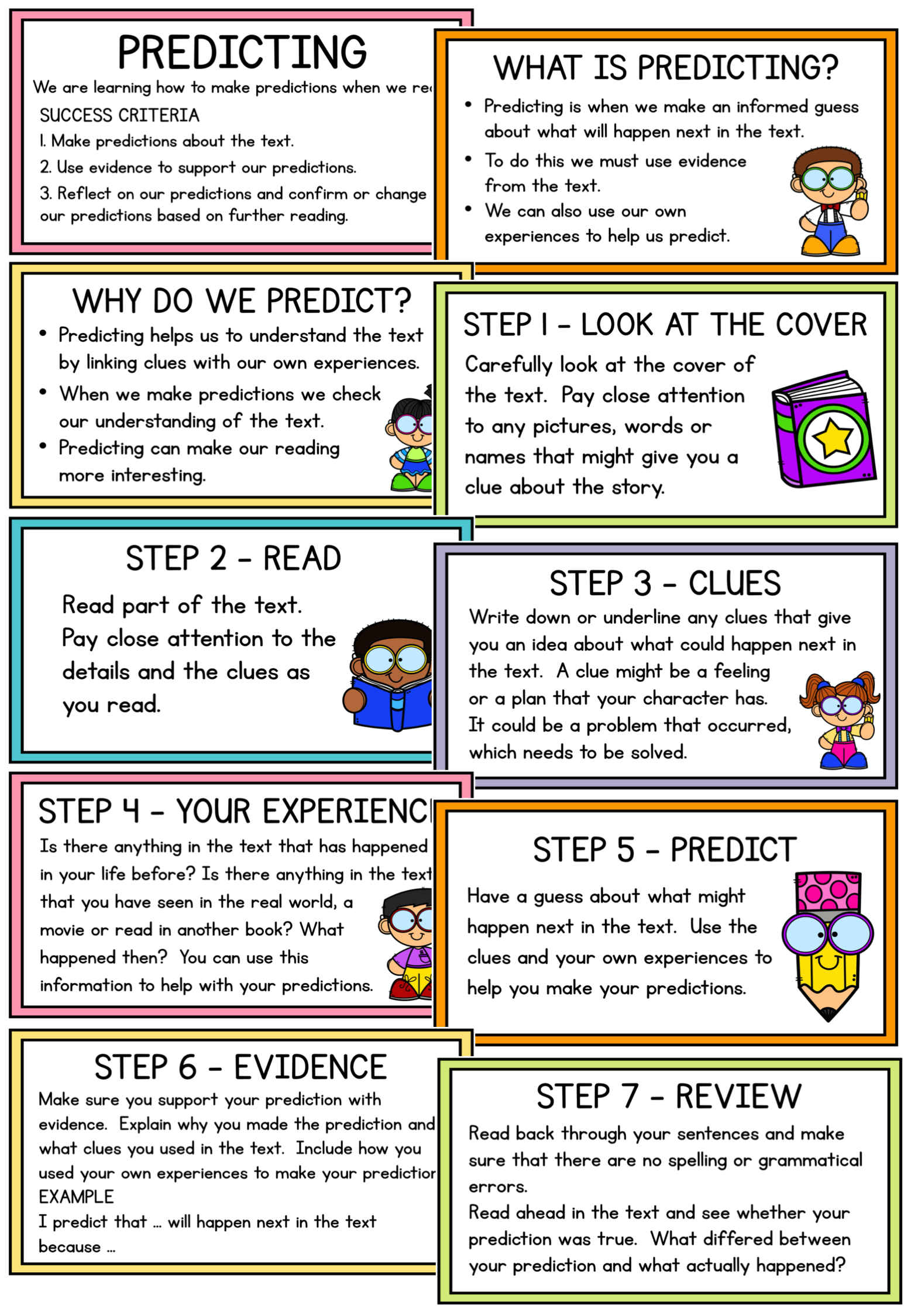 Reading Strategy Powerpoint Predicting Reading Strategies Reading Comprehension Resources Phonics Flashcards [ 2249 x 1557 Pixel ]