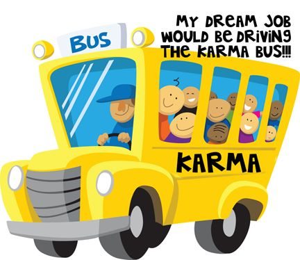 Karma Bus Driver With Images School Bus Clipart School Bus School Images