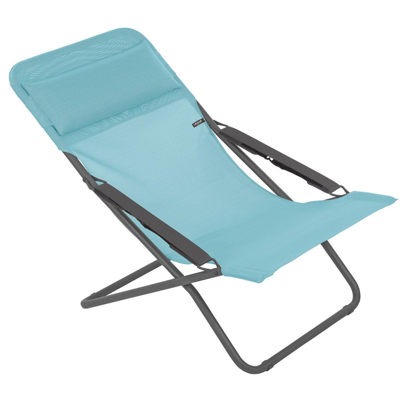 chaise longue de jardin leroy merlin