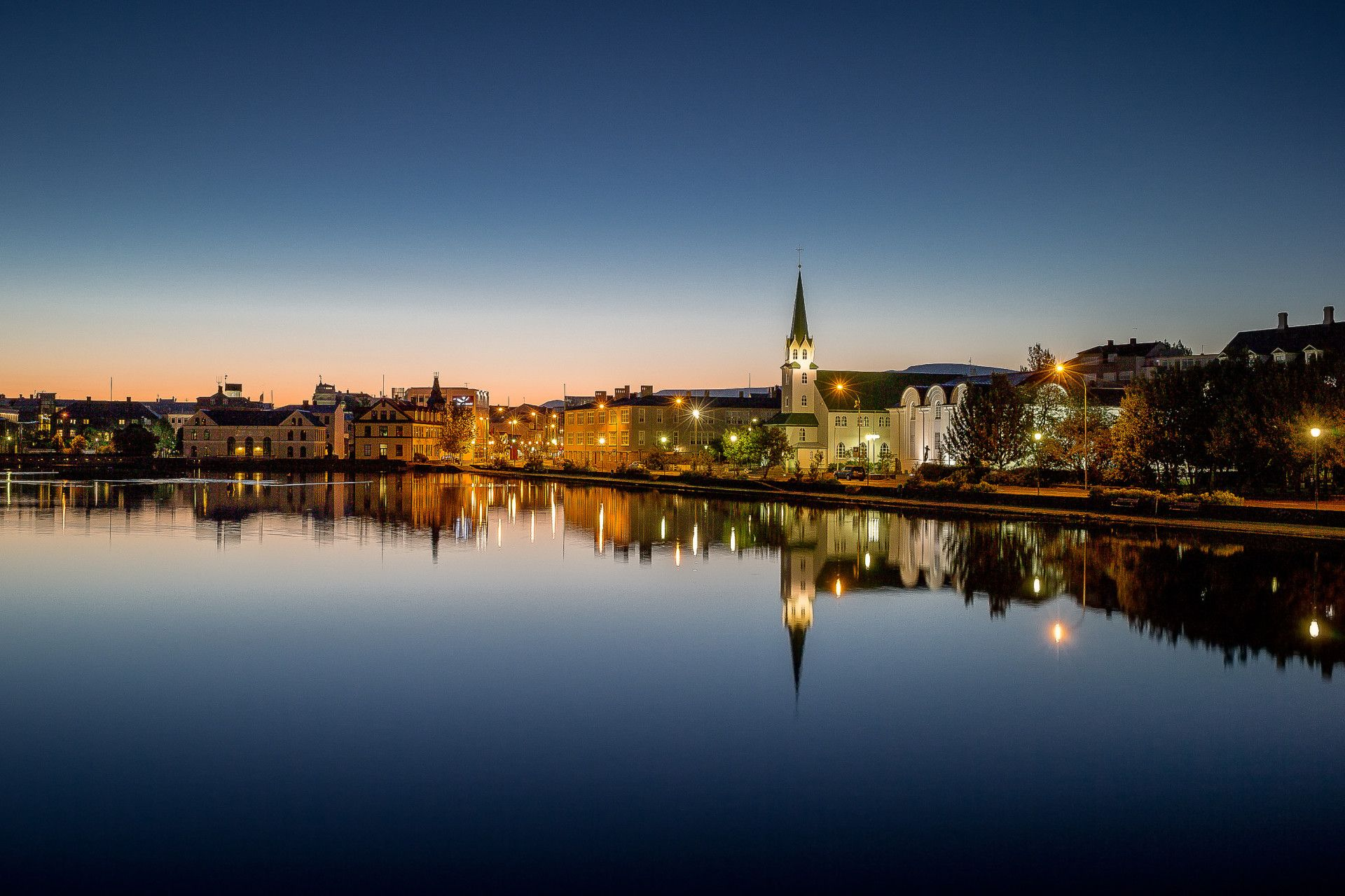 Reykjavik the worlds most northerly capital combines