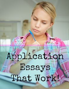 How to write College application essays.