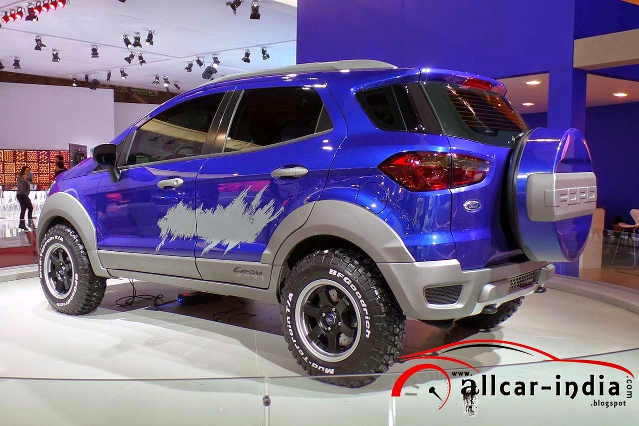 Ford Ecosport Concepts Ford Ecosport Ford Jeep Cars