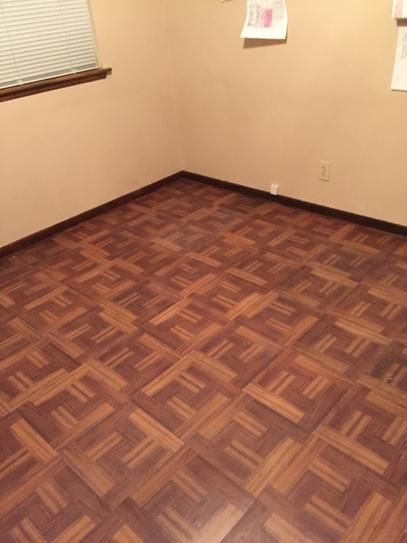 Trafficmaster Red Oak Parquet 12 In X 12 In Peel And Stick Vinyl Tile Flooring 30 Sq Ft Case 65656 The Home Depot Vinyl Tile Vinyl Tile Flooring Tile Floor