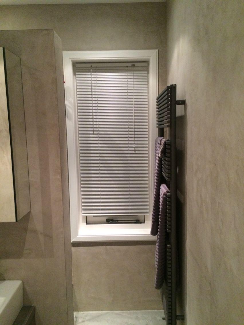 Bathroom in Heemstede, walls from luxury- walls.com (beal mortex ...