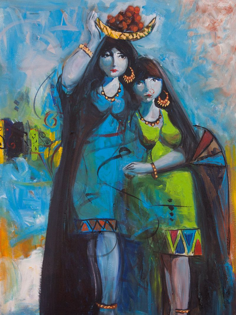 Original Iraqi Painting رسم تشكيلي عراقي Oil On Canvas You Can Buy This Original Artwork Online Directly From Our Galle Art Original Art Painting Art Painting