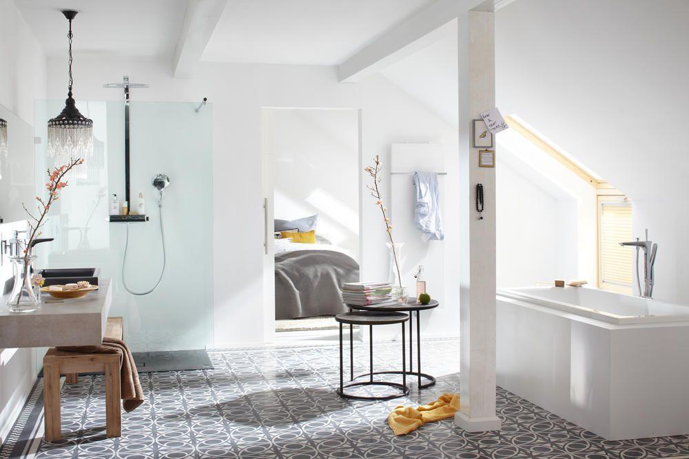 moderne badgestaltungsideen fliesen beige texturen fap ceramiche - badezimmer ideen dachgeschoss