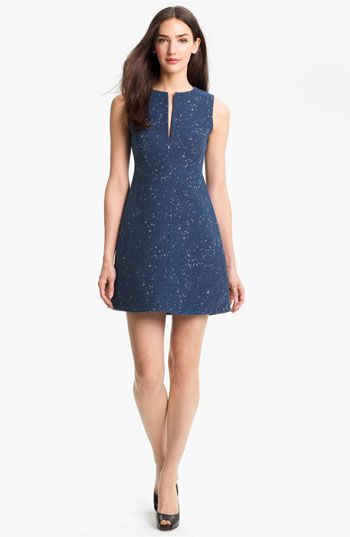 This is my Saturday dress!! It just arrived. It beat out the turquoise Kate Spade @Anna Jacobson   Diane von Furstenberg Yvette Cotton Blend A-Line Dress | Nordstrom