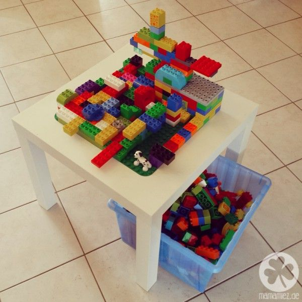 ikea hack der duplo tisch einrichtung pinterest kinderzimmer kinder und tisch. Black Bedroom Furniture Sets. Home Design Ideas