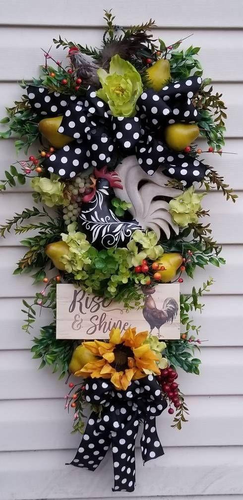 Spring summer wreathsfront door wreaths rooster wreaths Tuscan wreathsrustic wreaths & Spring summer wreathsfront door wreaths rooster wreaths Tuscan ...