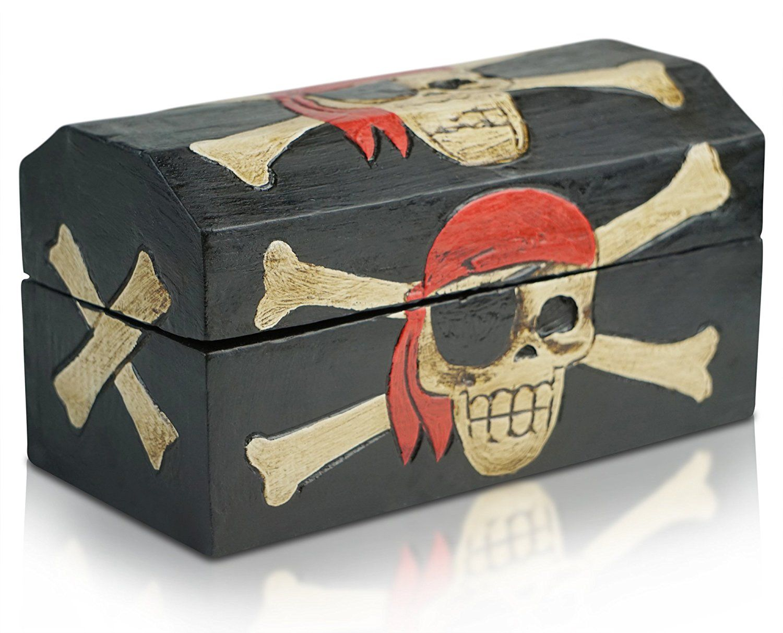Piratenzimmer deko f r das piratenzimmer schatzkiste - Piratenzimmer wandgestaltung ...