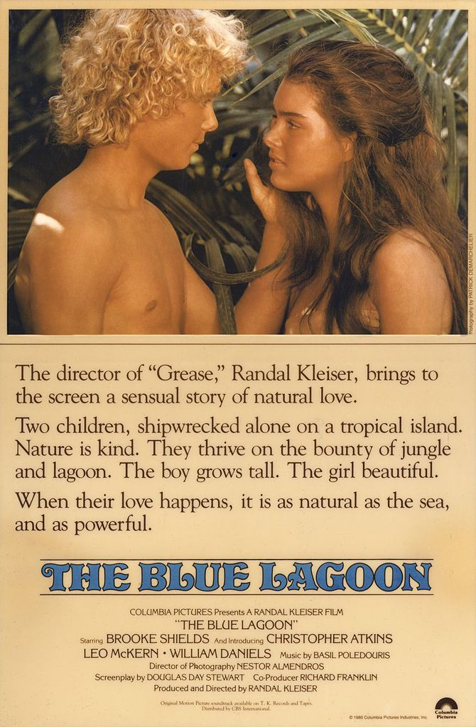 The Blue Lagoon 1980 Starring Brooke Shields Christopher