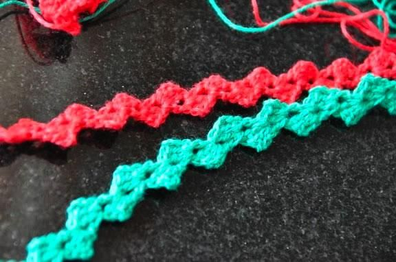 How-To: Crochet Ric Rac from Kate of Foxs Lane