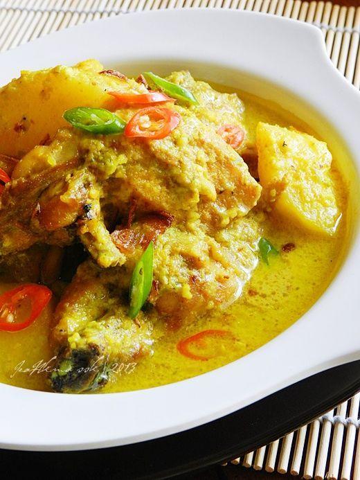 Singgahsana Kitchen Ayam Masak Lemak Cili Api Tanpa Santan