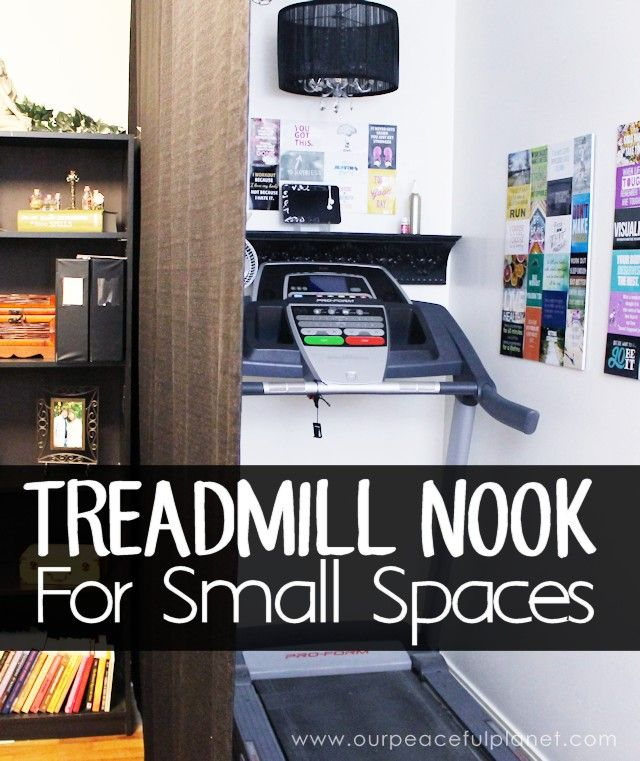 Basement Workout Area: Treadmill Nook : Create A Fun Exercise Corner