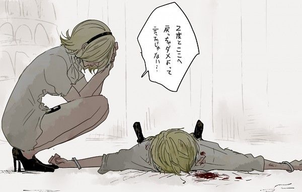 tags anime pixiv id 4808627 one piece sanji vinsmoke reiju brother and sister サンジ ヴィンスモーク サボル onepiece イラスト