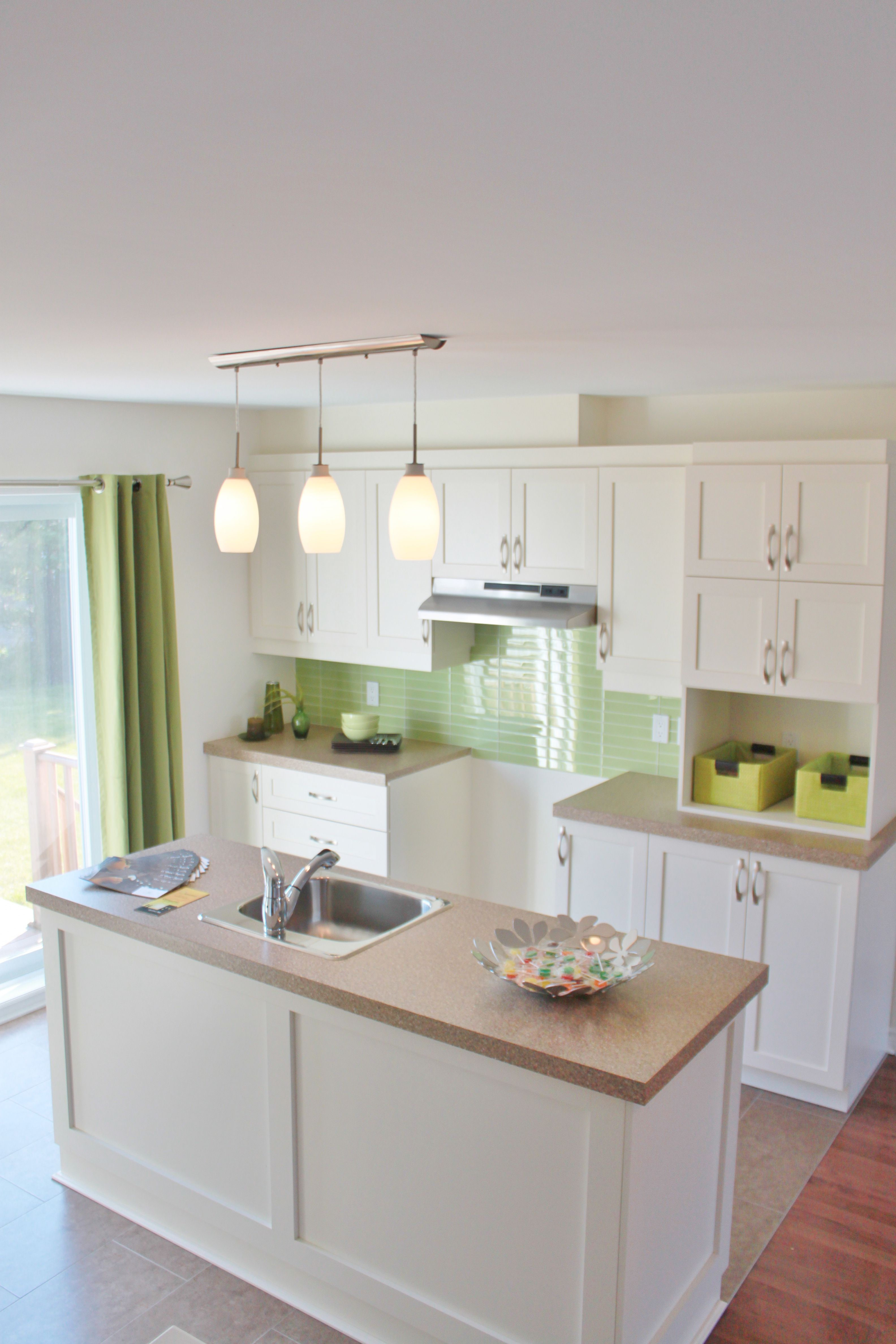 Kitchen With Lime Green Accents This Is My