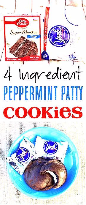 Photo of York Peppermint Cookie Recipe! (Just 4 Ingredients) – Never Ending Journeys