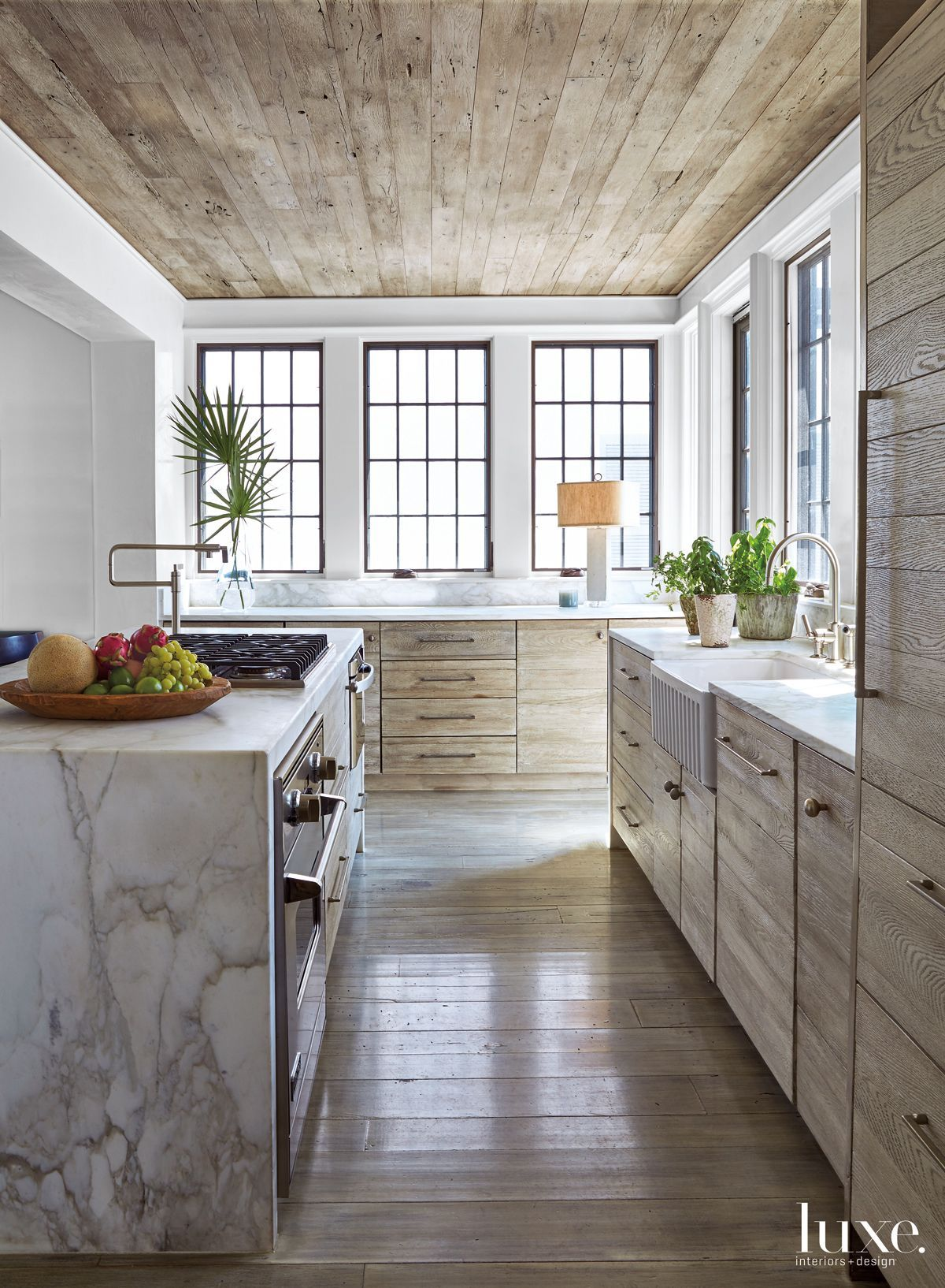 Looking out kitchen window  loewen windows from e f san juan look out to the water from the
