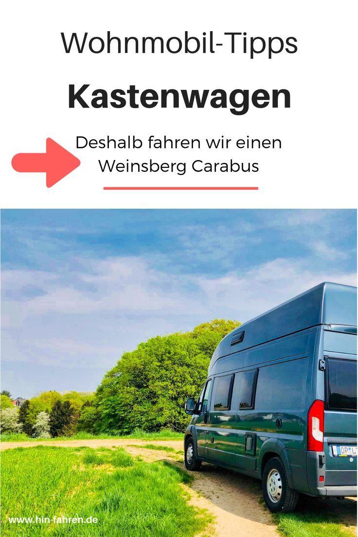 Karin und Sascha sind unterwegs im Kastenwagen Weinsberg