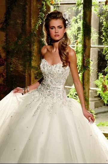 Eve of Milady E16 Sweetheart Ball Gown Wedding Dress #ShopSimple ...