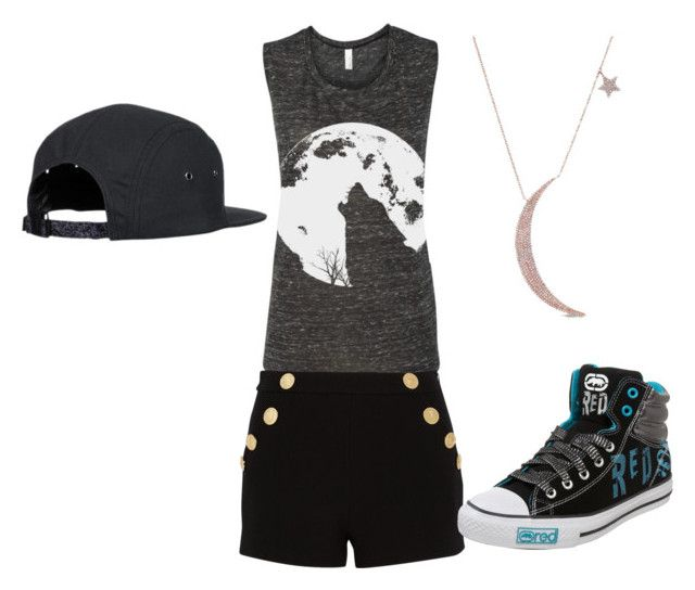 """""""mail time"""" by epgty on Polyvore featuring Boutique Moschino and Ecko Red"""