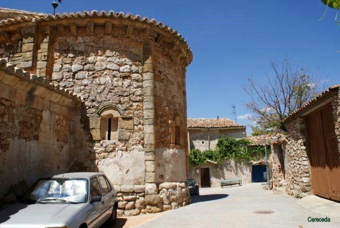 Abside y casas antiguas cereceda guadalajara spain - Casas gratis en pueblos de espana ...