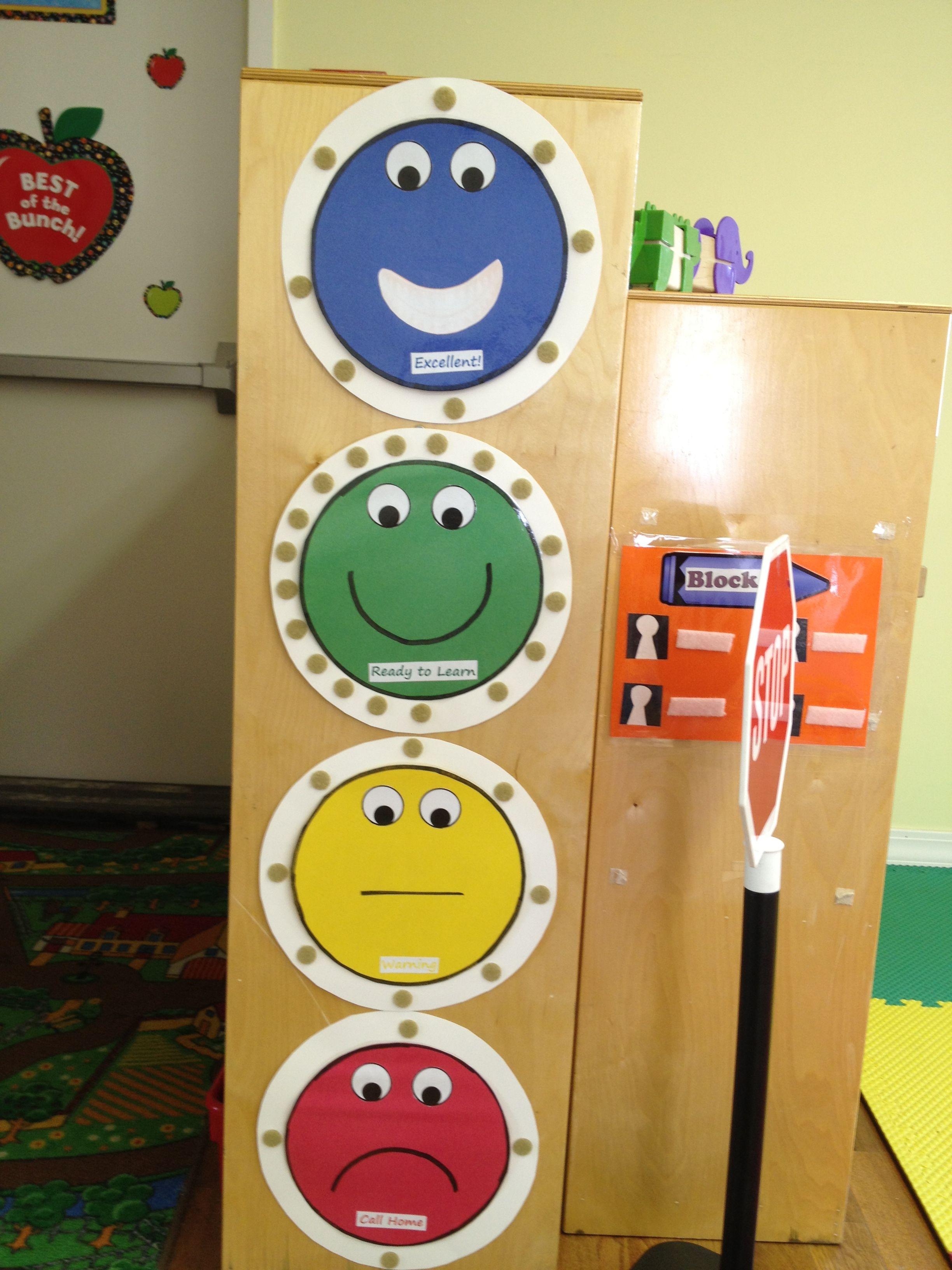 Pre K behavior chart | Preschool behavior management ...