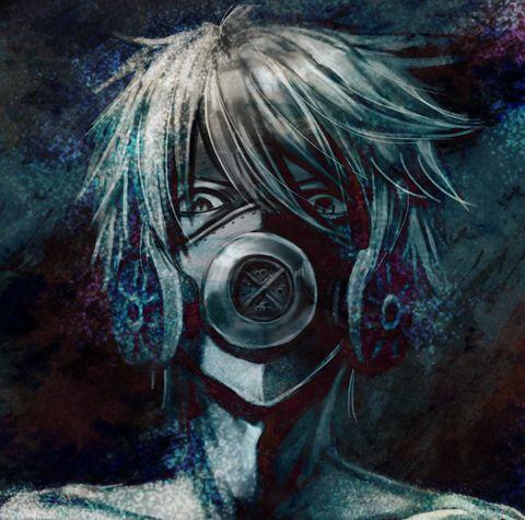 Gas mask wearing guys! - pixiv Spotlight