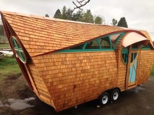 From Raggedy School Bus to Cabin on Wheels