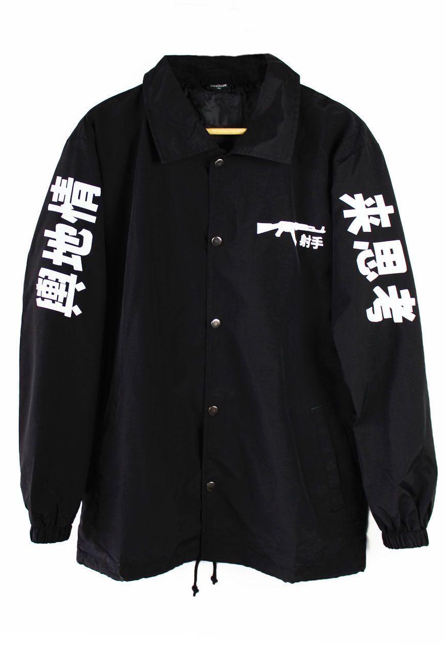 7564150b483 Shop    Agora    Jackets    AK-47 Japanese Coach Jacket - Agora Clothing -  Shop - Products