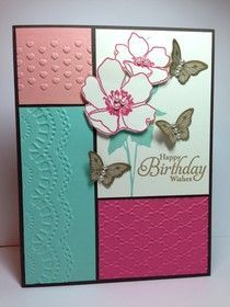 Stampin Up Birthday Card Ideas