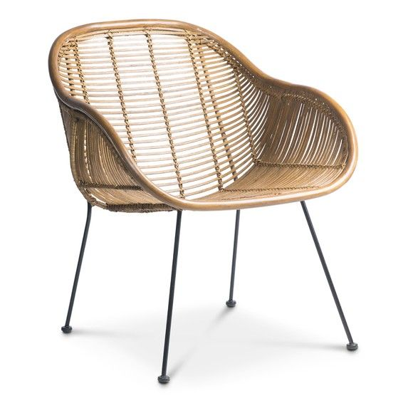 Phil Stuhl Rattan Furniture Wicker Chair Chair