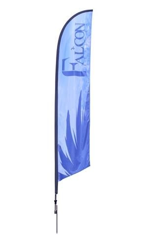 Falcon 13ft Banner Stand Single Sided Outdoor Banner Stands Outdoor Banner Stands Banner Stands Outdoor Banners