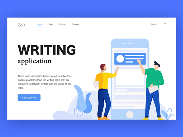 50 Creative Landing Page Design Concepts Concept Web Cheap Hosting