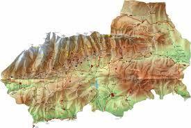 Mapa De La Alpujarra.Para Que Os Guieis Por Nuestra Alpujarra Os Dejo El Mapa
