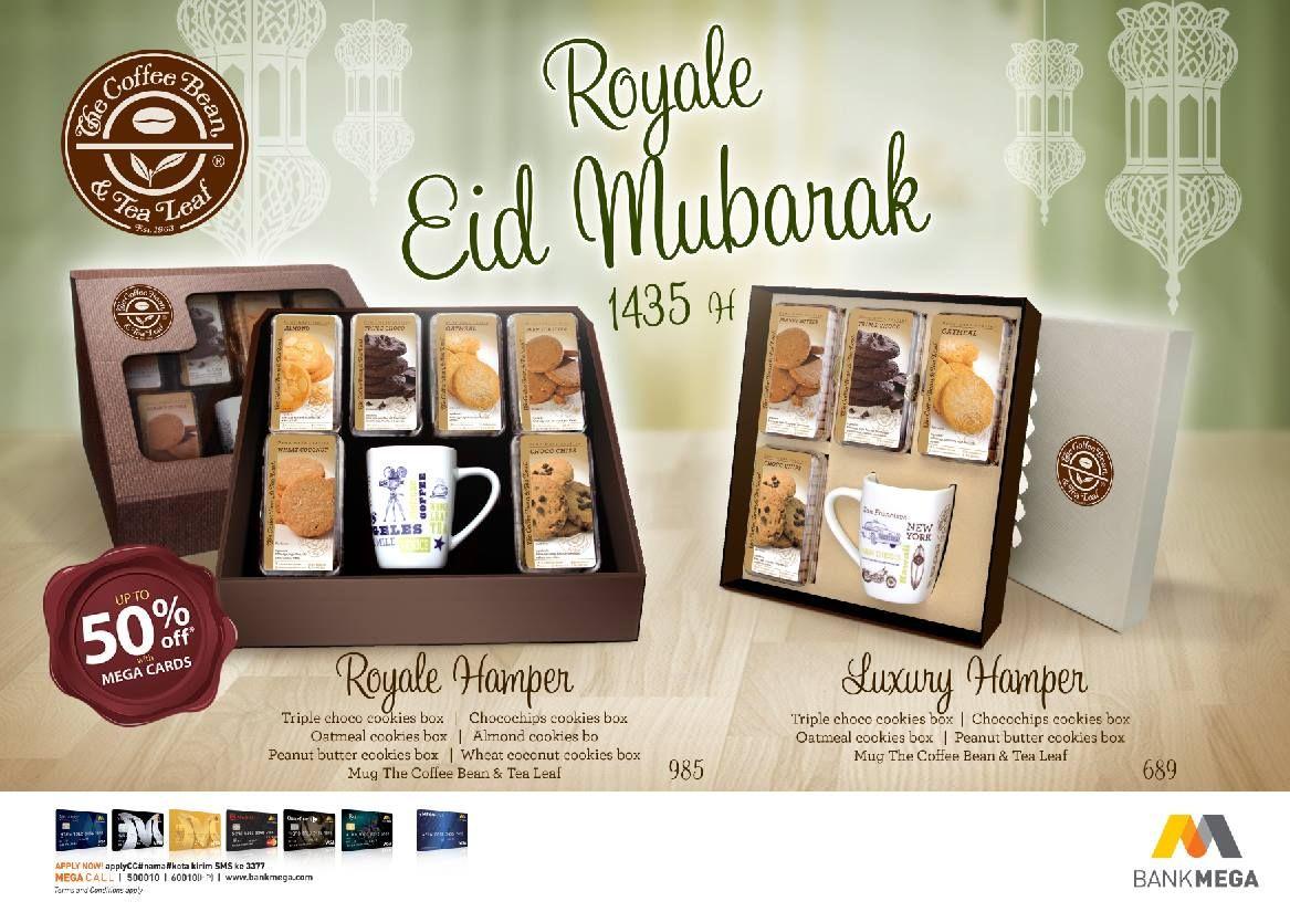 The Coffee Bean Amp Tea Leaf Promo Royal Eid Mubarak Discount Up To 50 Bank Mega Coffeebeanindo Tea Leaves Coffee Beans Tea