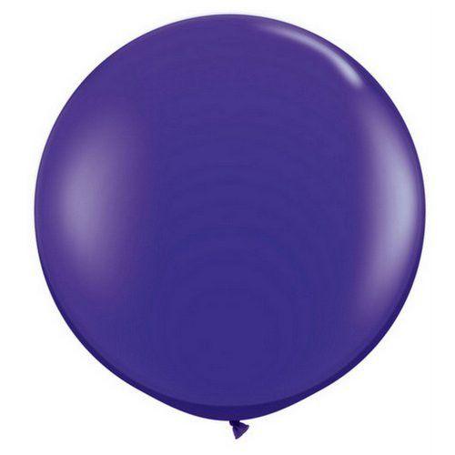 """Dark Purple 36"""" Balloons"""