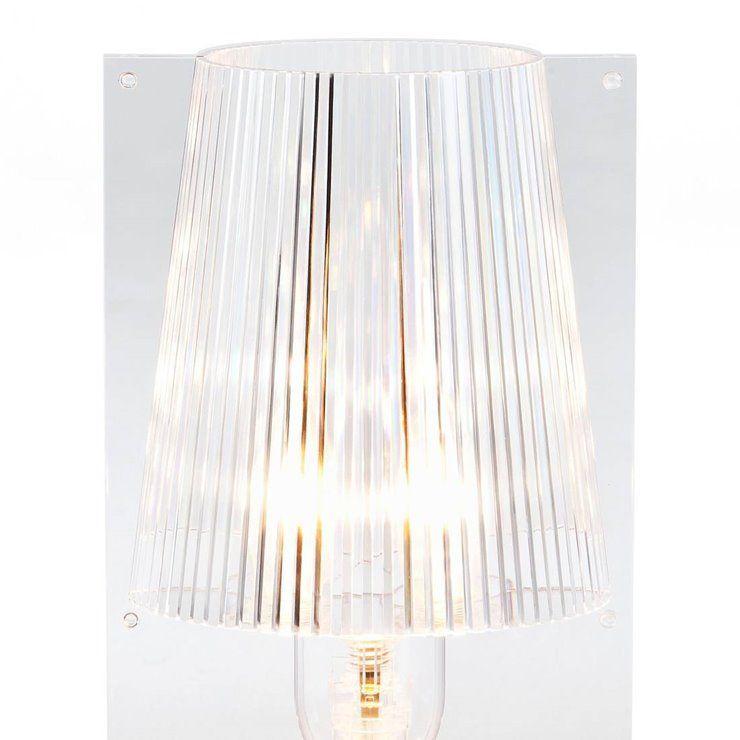 Take Lampe A Poser H30cm Transparent Kartell Designe Par
