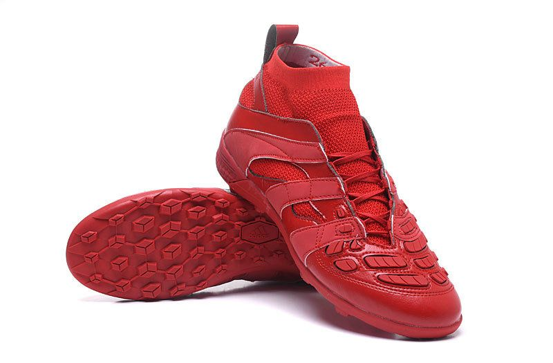new product 93e61 b6ce2 2018 World Cup Adidas Predator Accelerator TF Beckham Capsule Collection  Triple Red