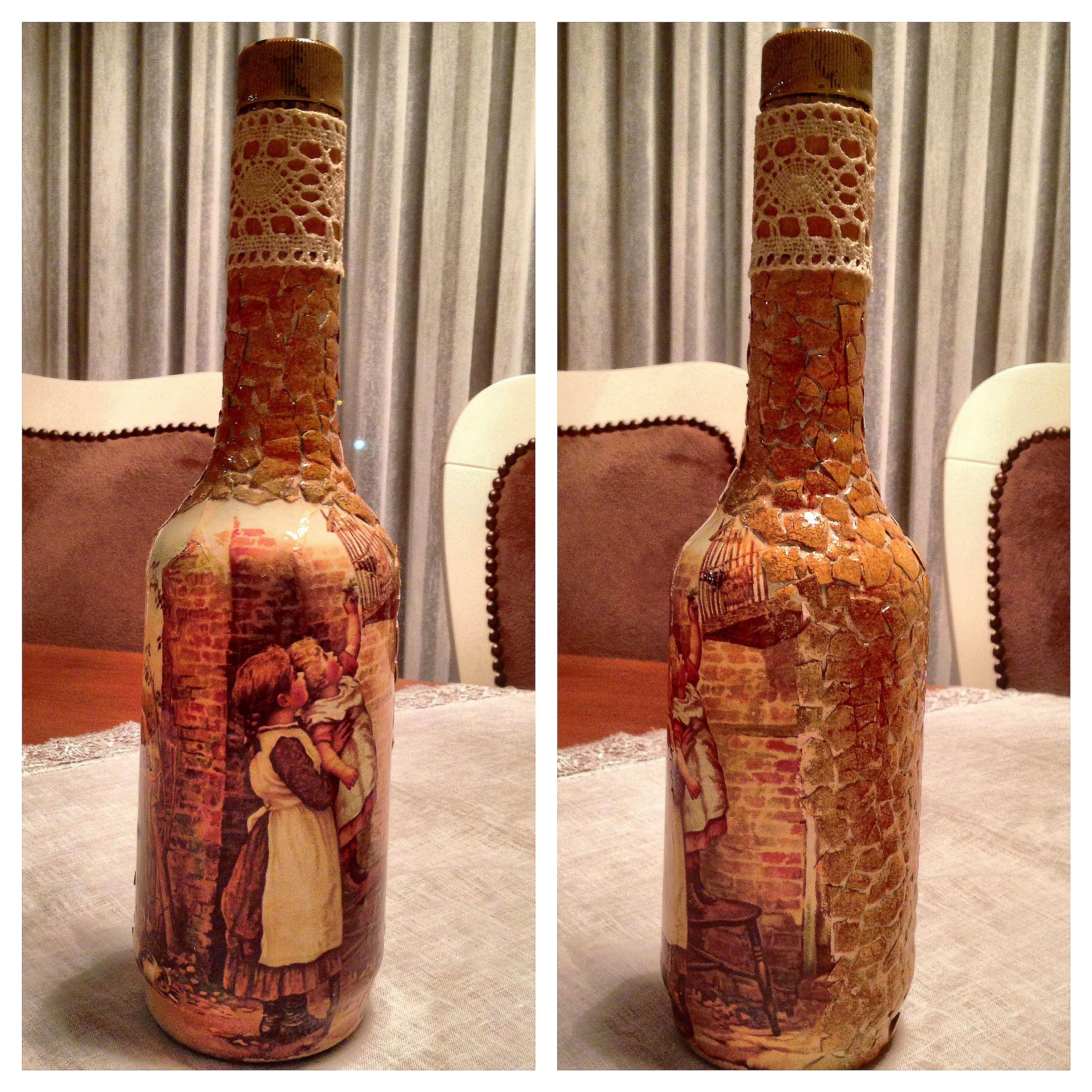 Bottle Painting Sise Boyama Yumurta Kabugu Calismasi Painting